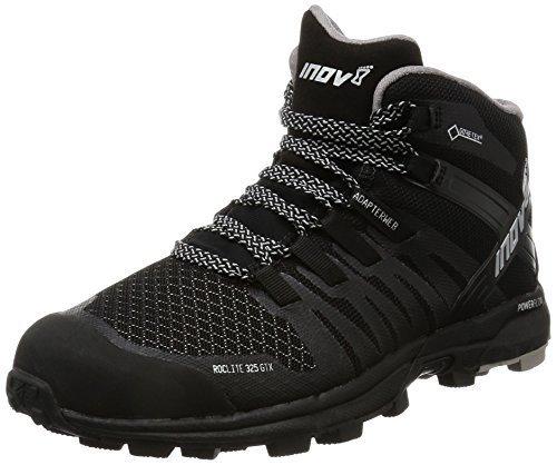 Inov-8 Inov8 Women's Roclite 325 GTX Trail Running Shoes Black/Grey W6.5