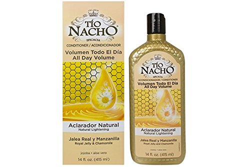 Chamomile Hair Rinse - Tio Nacho All Day Volume Natural Lightening Conditioner