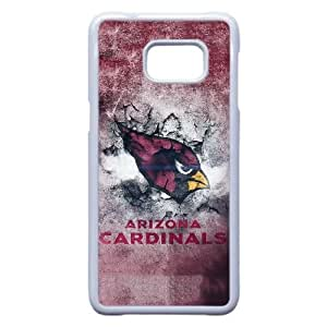 Arizona Cardinals 03 funda Samsung Galaxy S6 funda caso Edge Plus teléfono celular cubierta blanca, funda Samsung Galaxy S6 Edge Plus casos Funda blanco