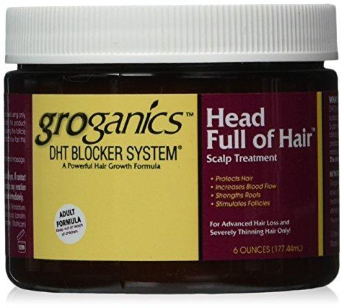 - Groganics Head Full of Hair, 6 Ounce