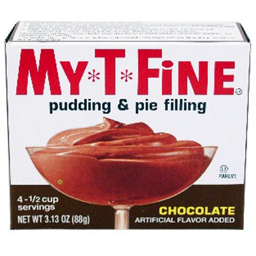 (My-T-Fine Pudding Mix Chocolate - 24 Unit Pack)