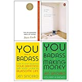 img - for Life changing magic of tidying, goodbye things, you are a badass, making money 4 books collection set book / textbook / text book