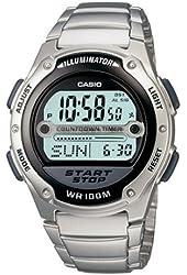 Casio Men's W756D-1AV Referee Timer World Time Sport Watch