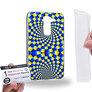 Case88 [LG G2 mini] Gel TPU Carcasa/Funda & Tarjeta de garantía - Art Fashion Visual Art Effect 26 Art1042