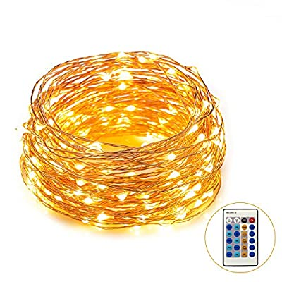 lED String Lights, Waterproof Copper Wire Starry Lights for Wedding, Bedroom, Patio,Garden, Parties, Warm White(10m/ 20m/ 30m)