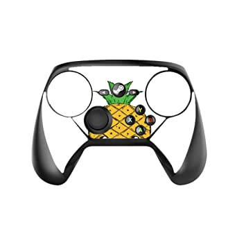 Amazon Com Animated Happy Pineapple Design Vinyl Decal Sticker Skin By Egeek Amz For Steam Controller Video Games