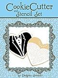 Bride & Groom Cookie Cutter & Stencil Set by Designer Stencils