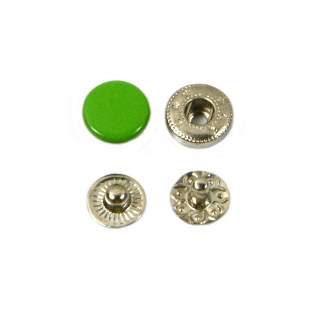 AngelaKerry メタル ジャンパーホック 10mm 緑 1000個セット [並行輸入品] 1000個 緑 B01KZCANRC