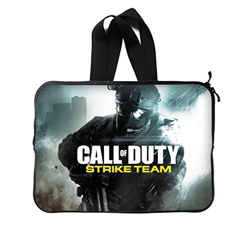 JIUDUIDODO Shooting Games Call of Duty Neoprene Laptop Sleeve 11