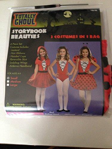 [Totally Ghoul Storybook Beauties 3 Costumes in 1 Bag] (Halloween Storybook Costumes)