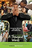 A Thousand Words 27 x 40 Movie Poster - Style B