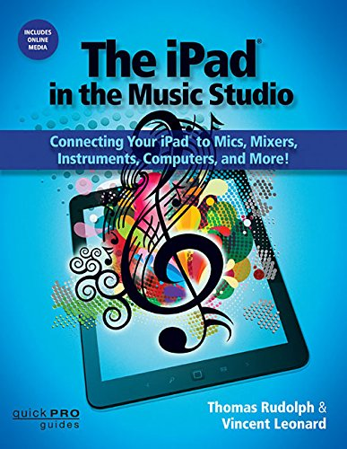 The iPad in the Music Studio: Connecting Your iPad to Mics, Mixers, Instruments, Computers, and More! (Quick Pro Guides) (Quick Pro Guides (Hal Leonard))