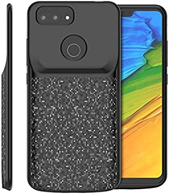 Xiaomi Mi 8 Lite Funda Batería, 4700mAh Recargable Externa ...
