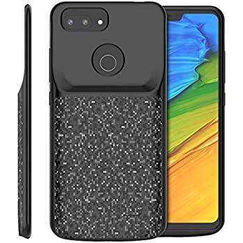 Amazon.com: Torubia Xiaomi Mi 8 Lite 4700mAh Funda Batería ...
