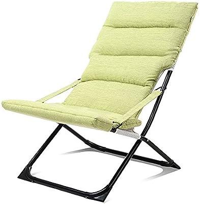 AJZXHEIdea Simple Silla Plegable, sofá del ocioso, sillón ...