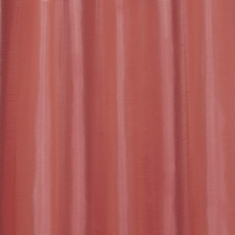 Coral 54x96 EH7934-18 2-96G Exclusive Home Curtains Chatra Faux Silk Grommet Top Window Curtain Panel Pair