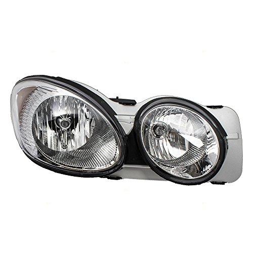 Headlight Headlamp Passenger Replacement for 05-09 Buick LaCrosse 25942067
