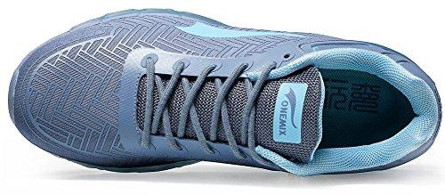 Onemix Luft Løbesko Mænd Sko Luftpude Sportssko Fitness Sneaker Sneakers Lysegrå Ee3Aa
