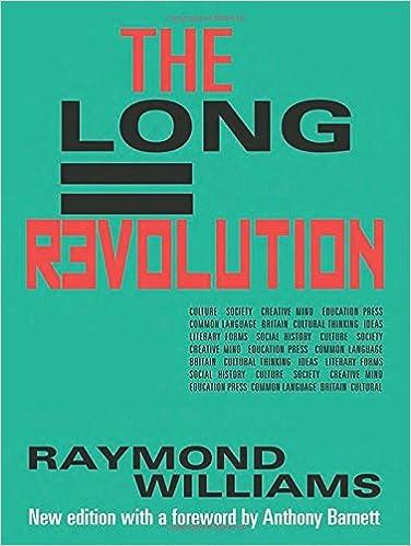 The Long Revolution Raymond Williams 9781908069719 Amazon Books