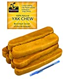Try our long lasting, all natural dog treat. Made from an ancient recipe of yak and cow milk used by the people of the Himalayas for hundreds of years. It is 100-percent natural with no preservatives. Your dog must work the end of the treat for hours...