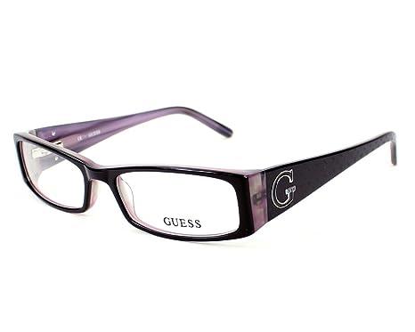aff2a4ac4b Lunettes de vue Guess 1589 - Black and Purple - Neutral Lunettes de vue