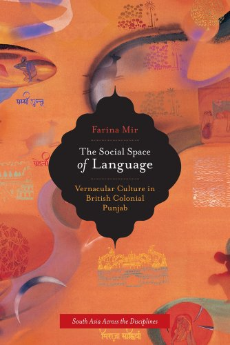 The Social Space of Language: Vernacular Culture in British Colonial Punjab (South Asia Across the Disciplines) by University of California Press