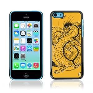 YOYOSHOP [Japanese Dragon Illustration] Apple iPhone 5C Case
