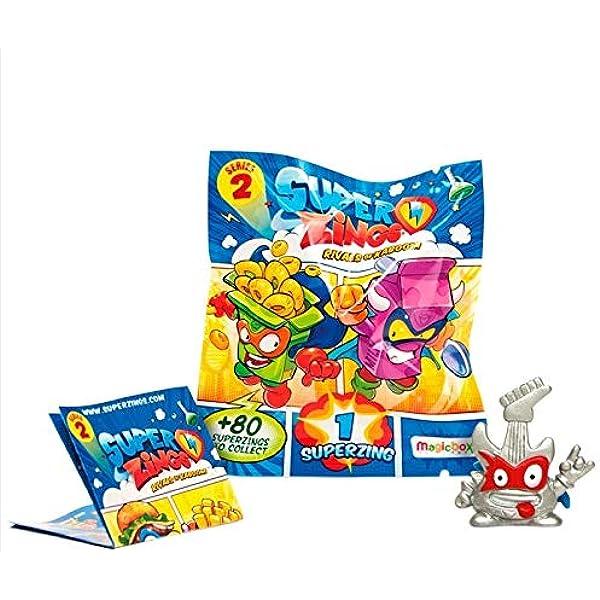 Magic Box Pack 10 UNDS SUPERZINGS Serie 2: Amazon.es: Juguetes y juegos