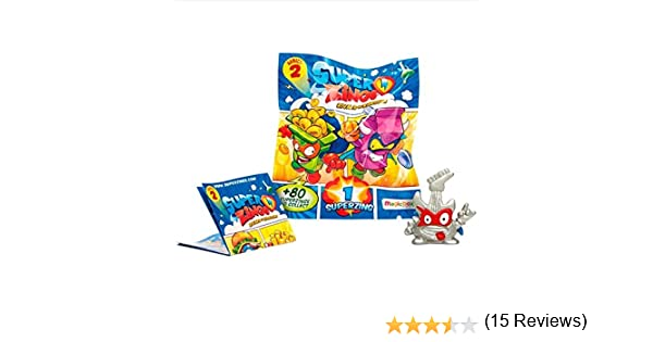 Magic Box Pack 10 UNDS SUPERZINGS Serie 2: Amazon.es: Juguetes y ...