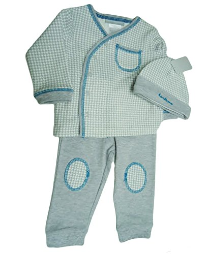 Wendy Bellissimo Baby Boys 3 Piece Outfit Set (9 Months, -