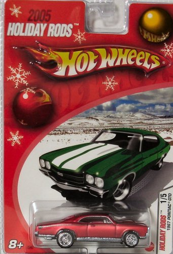 Hot Wheels 2005 Holiday Rods 1967 Red Pontiac GTP ()