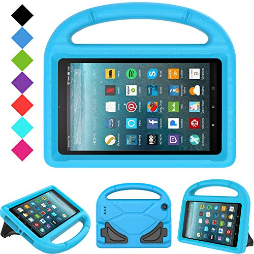 Kids Case for All-New Fire 7 2019/2017 - TIRIN Light Weight Shock Proof Handle Kid-Proof Cover Kids Case for Amazon Fire 7 Tablet (9th/ 7th/ 5th Generation, 2019/2017/ 2015 Release)(7
