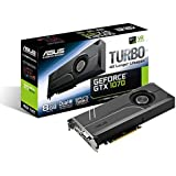 ASUS GeForce GTX 1070 8GB Turbo Edition 4K & VR Ready Dual HDMI 2.0 DP 1.4 Auto-Extreme Graphics Card (Turbo-GTX1070-8G)