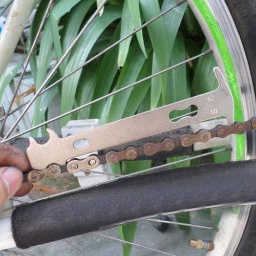 WINOMO Indicador de desgaste de cadena de bicicleta Herramienta ...