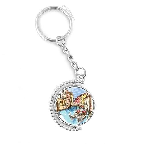 DIYthinker La Acuarela del Paisaje de Venecia Italia Pintura ...