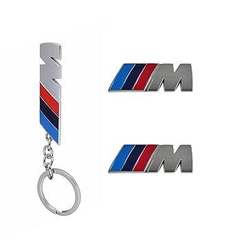 Amazon Set Of 2 Bmw M Emblem Side Fender Badges Abs Bmw M