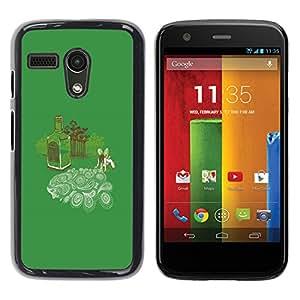 Stuss Case / Funda Carcasa protectora - Absinth Fairy Dreams - Funny - Motorola Moto G 1 1ST Gen
