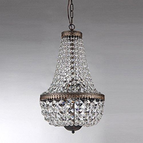 Antique Crystal Pendant Light - 2