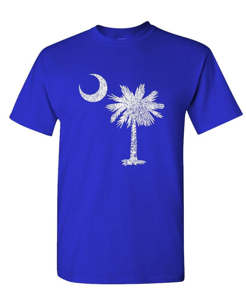 South Carolina State Flag Pride Palm S T Shirt 2058