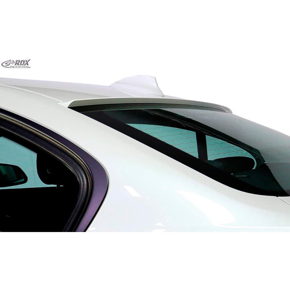Black RDX Racedesign RDHL466 Roof Spoiler Lip 3-Serie F30 2012- Abs