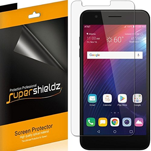 [6-Pack] Supershieldz for LG Phoenix Plus Screen Protector, High Definition Clear Shield + Lifetime Replacement