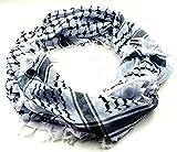 Palestine Black Shemagh Scarf Keffiyeh Kafiya Unisex Arafat Arab Shawl Neck Head Wrap