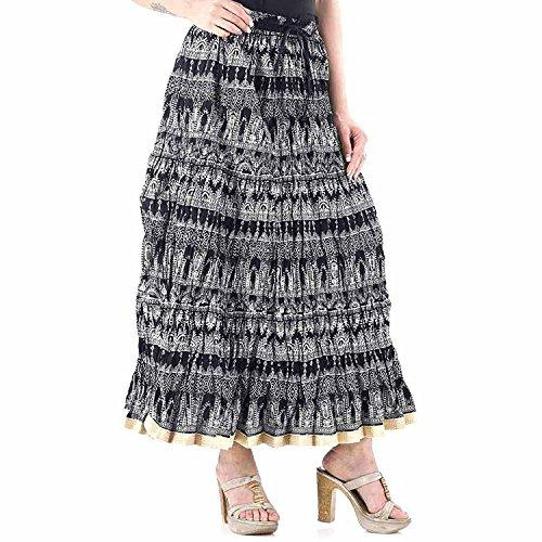 Jaipuri Skirts | Regular Fit Skirts | Pure Cotton Skirts | Free Size Skirts | Long Skirt N Long Skirt