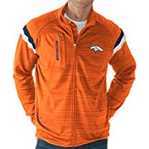 "Denver Broncos NFL G-III ""Wild Card"" Men's Full Zip Track Jacket"