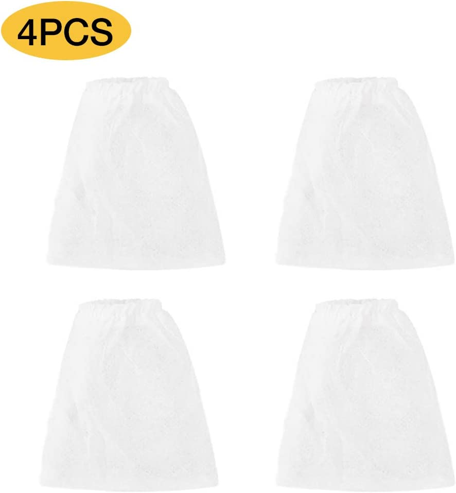IREENUO 4Pcs Replacement Filter Bags for Electric Siphon Aquarium Gravel Cleaner