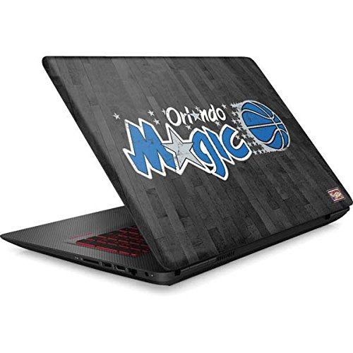 Skinit NBA Orlando Magic Omen 15in Skin - Orlando Magic Hardwood Classics Design - Ultra Thin, Lightweight Vinyl Decal Protection by Skinit