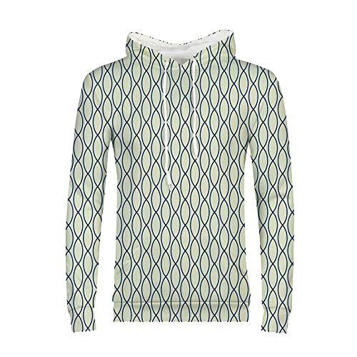 iPrint Unisex 3D Realistic Digital Print Pullover Hoodie Hooded Sweatshirt S-2XL