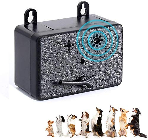 TOOU Control Device,Ultrasonic Dog Bark Deterrent,Upgrade Mini Sonic Anti-bark 50 FT Range,Ultrasound Silencer No Bark…