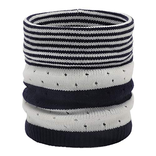 FraftO Scarves For Women Lightweight Neck Warmer Circle Scarf Windproof Knitted Cowl