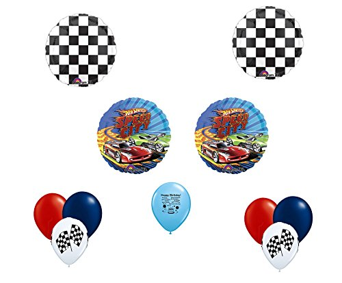 Hot Wheels Speed City Balloon Decorating Kit (Hot Wheels Party Invitations compare prices)
